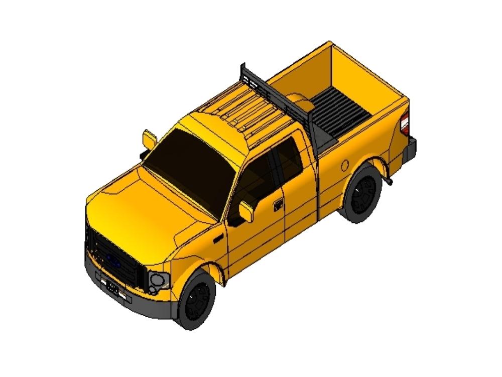 Ford lobo f-150 8 cilindros modelo 3d