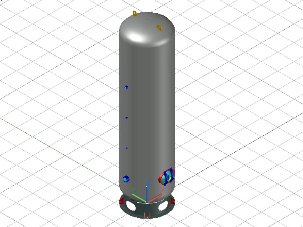 Tanque de aire comprimido