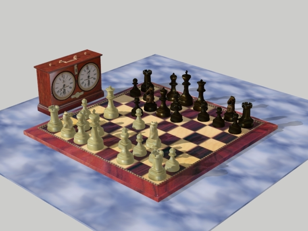 Chess - sketchup