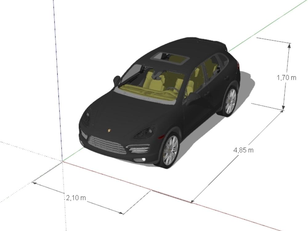 Porsche cayenne 2012 gran lujo suv.