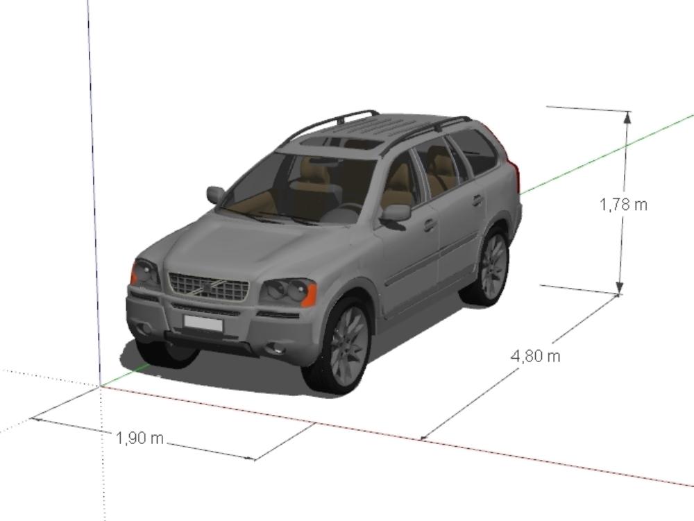 Volvo xc90 2014 all terrain vehicle