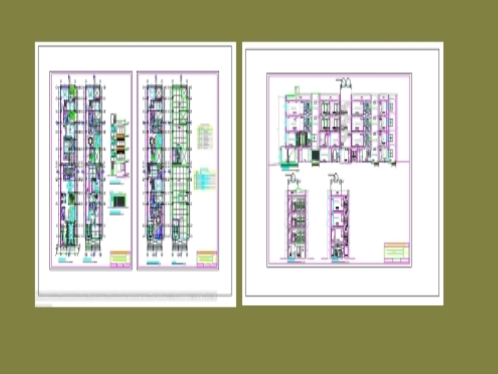 Four-story multifamily house