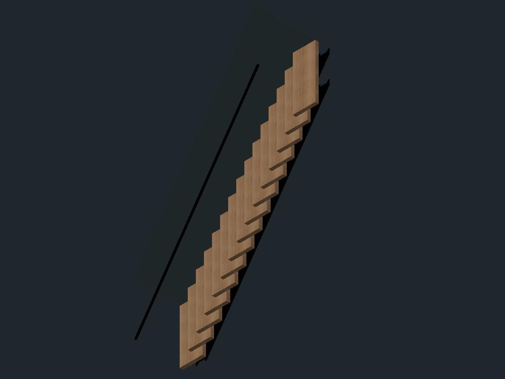 Escaleras con diseño 3d