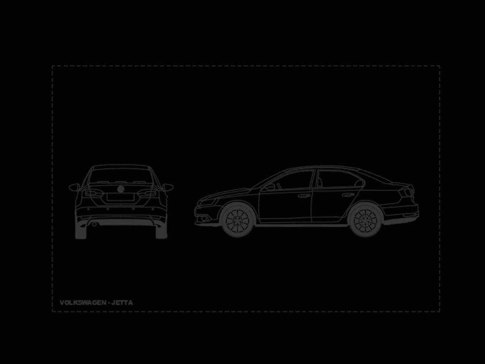 Volkswagen jetta mk7 car block