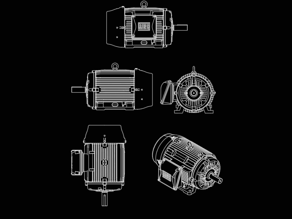 Motores electricos de diseño facil