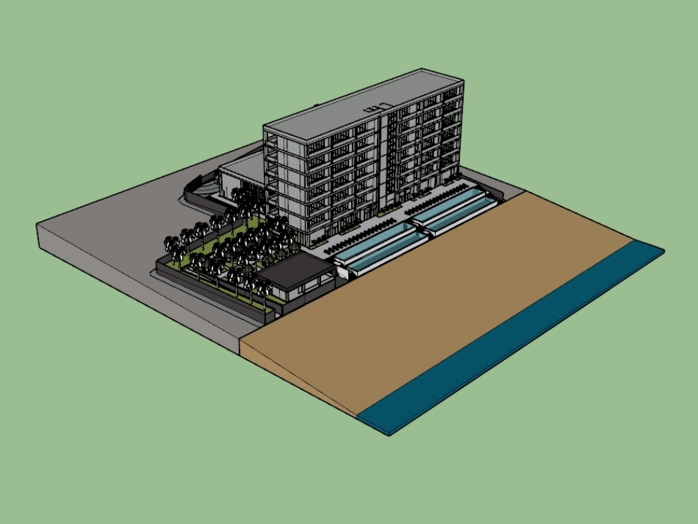 Project: timeshare hotel