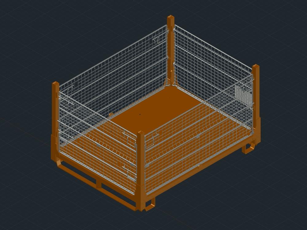 Sli1200 rack. measures 1600 * 1400 * 930