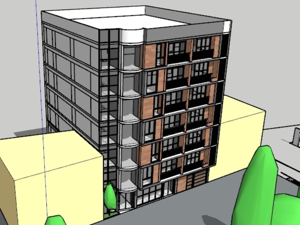 7-story hotel in tamburco