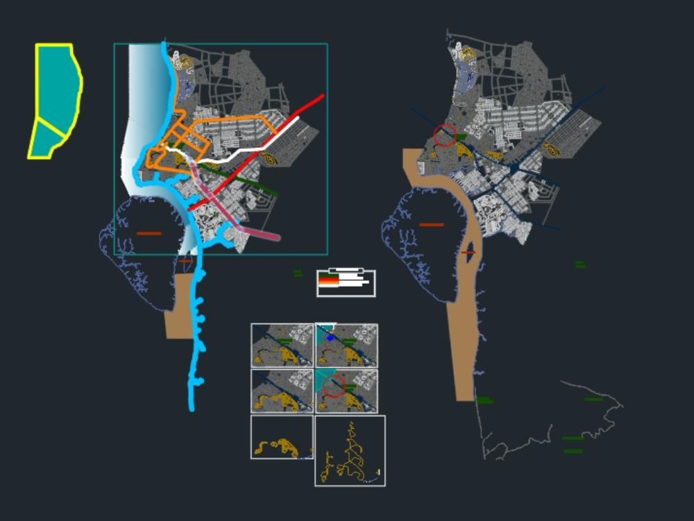 Duran city 2020 map