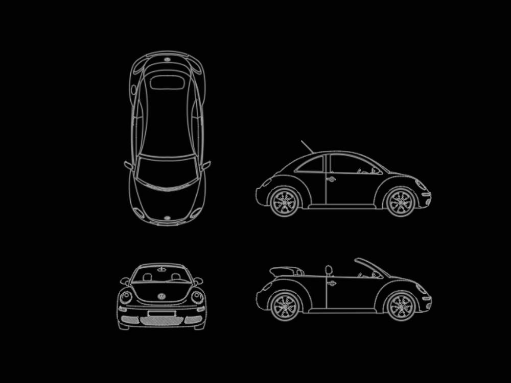 New classic volkswagen new beetle