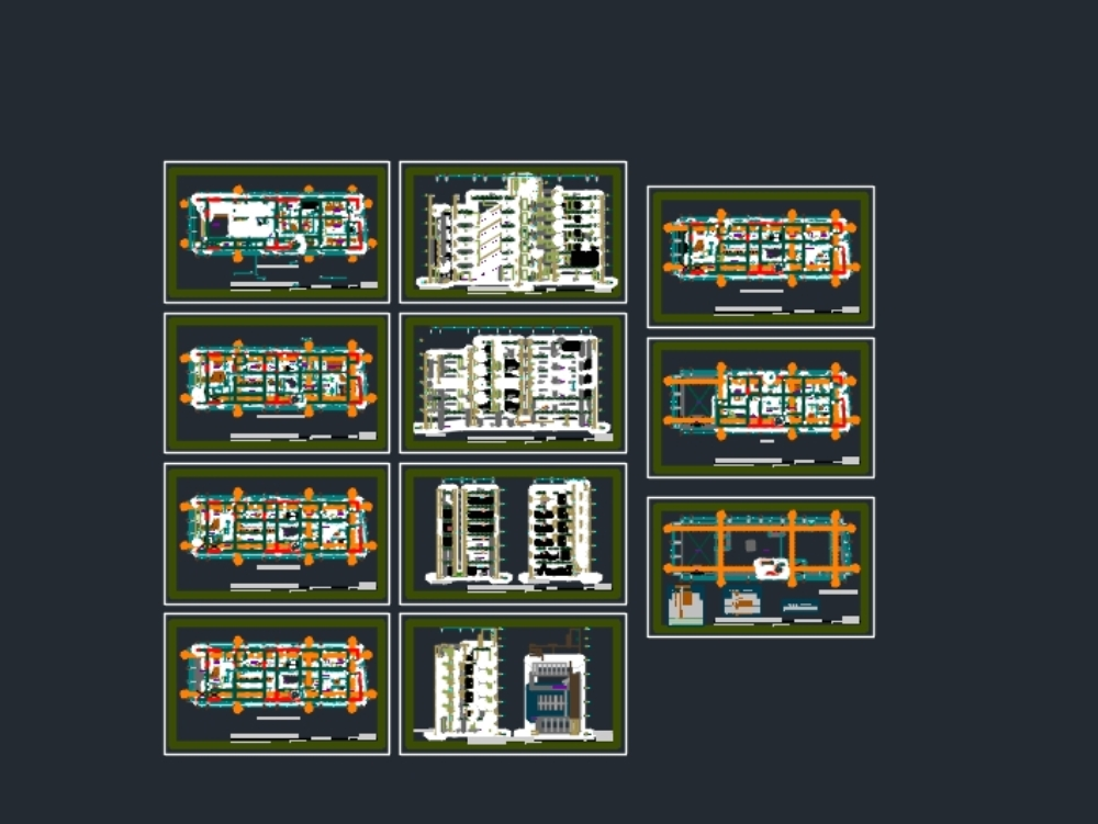 Hospital architectural project