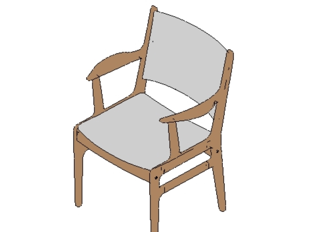 Indoor chair family for revit