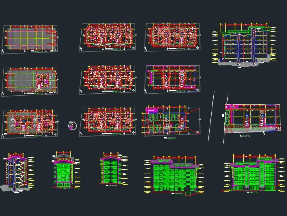 Building - multifamily 5 floors