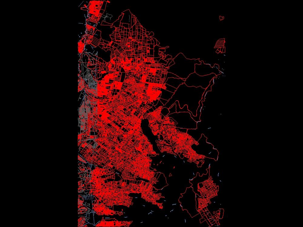 Map of calderon- sectors streets lots