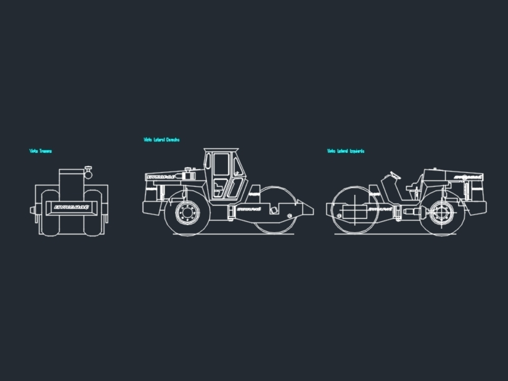 Self Propelled Compactor Machine