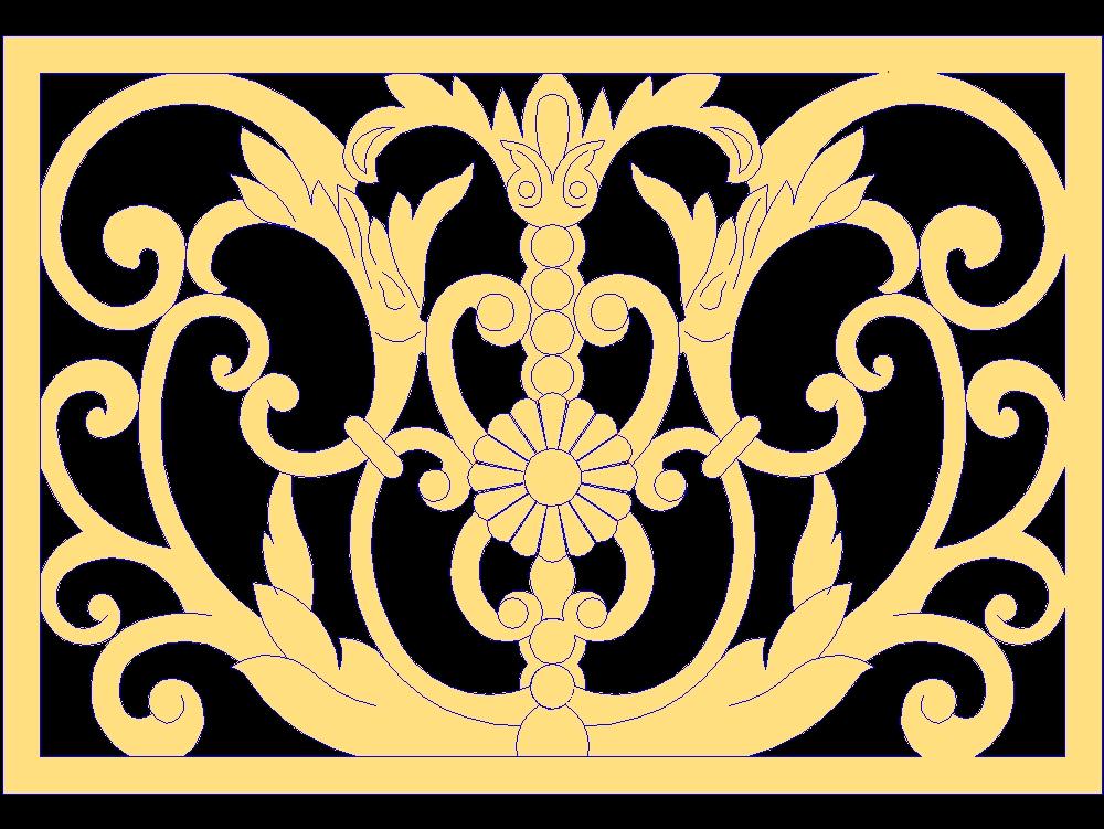 Decor design grc jali window frame