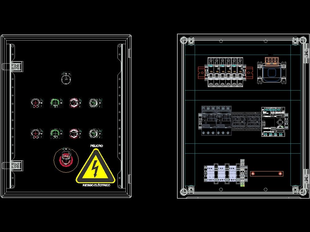 3d electrical panel design