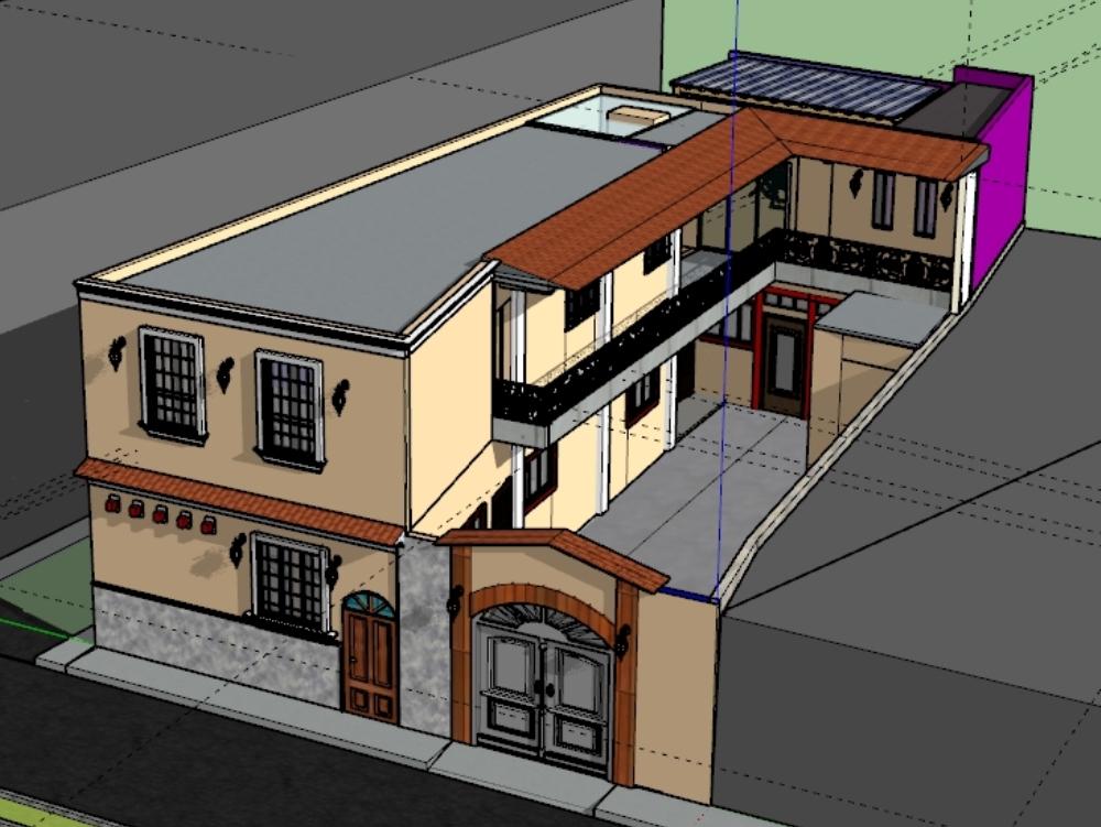 Remodelación de vivienda 2 niveles