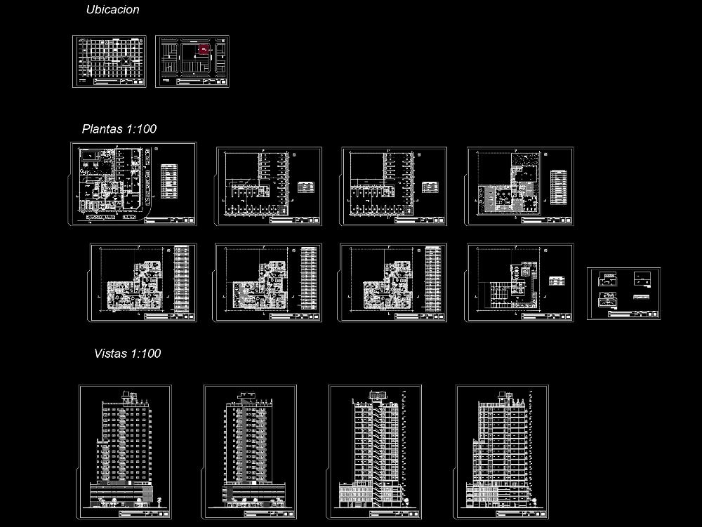 Multi-family; building 4 floors