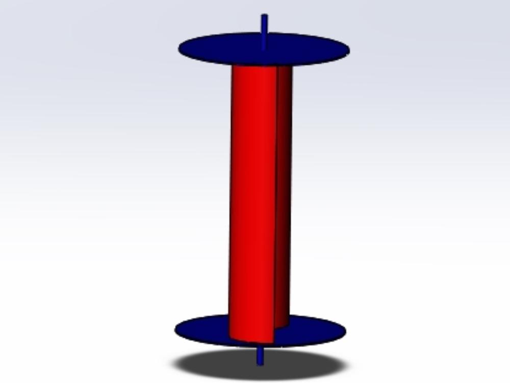 Savannius: un aerogenerador a pequeña escala con tomas de corriente para uso público