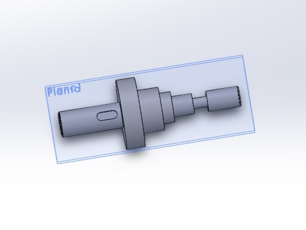 Pulley tensioner developed in solidwork