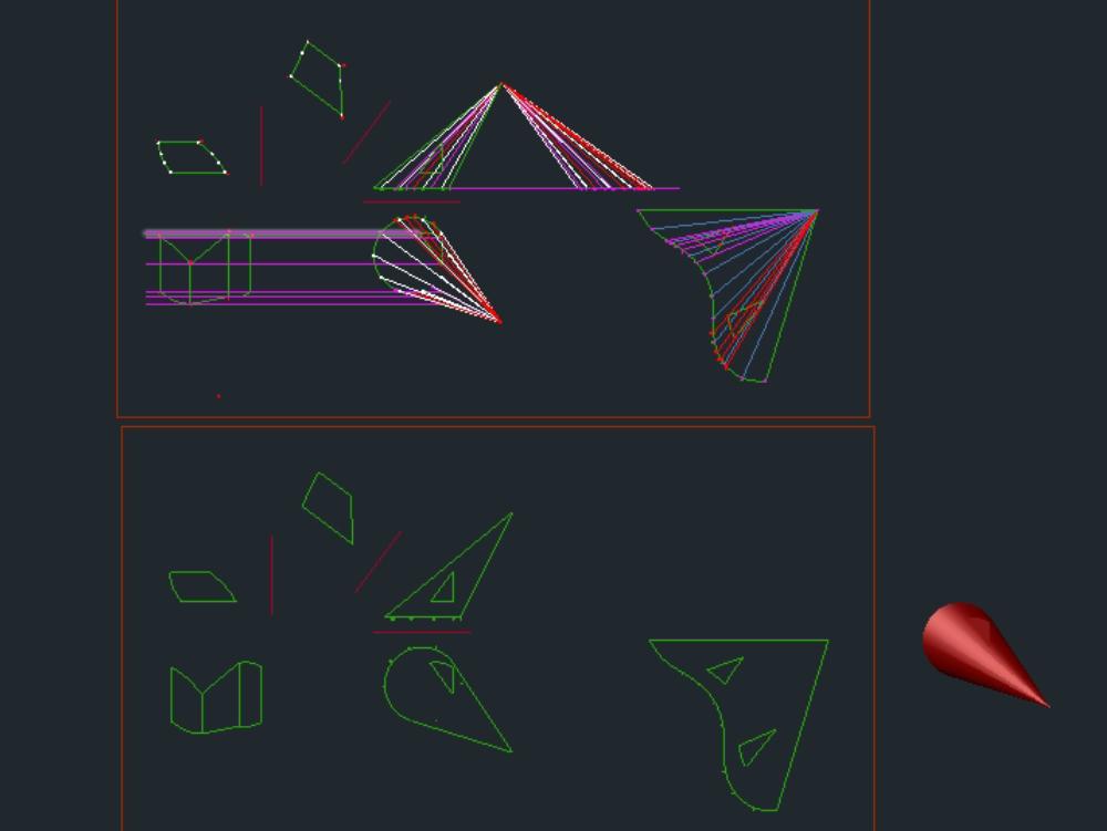 Desarrollo de conos y vistas principales