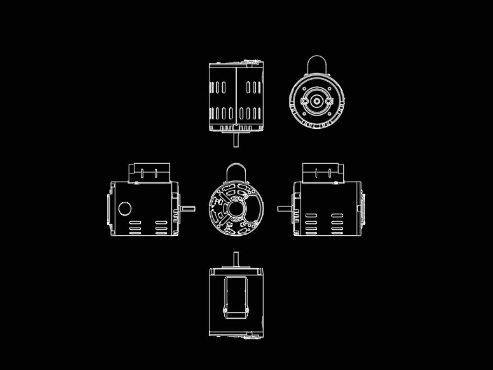 110v single phase electric motor. CD