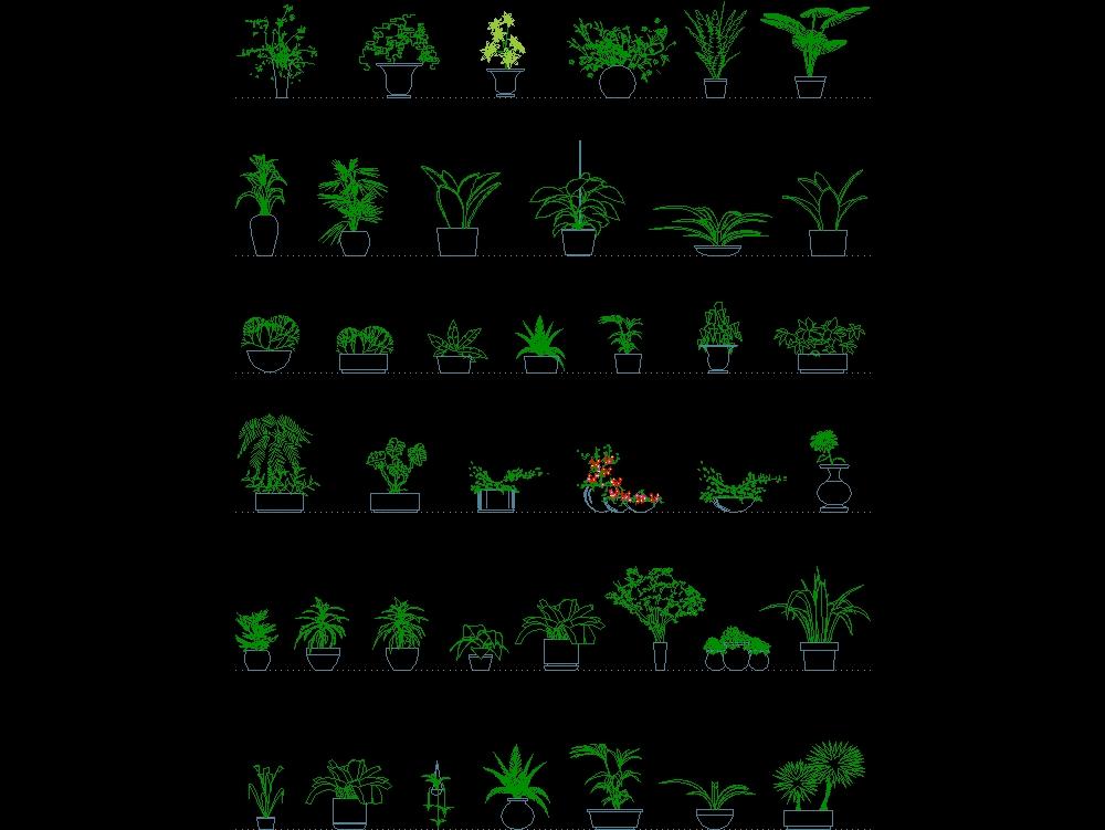 Elements for jardins e paisagens
