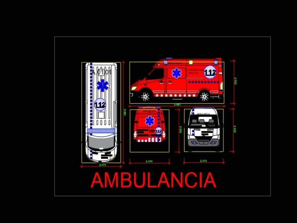 Ambulancia de bomber de catalunya