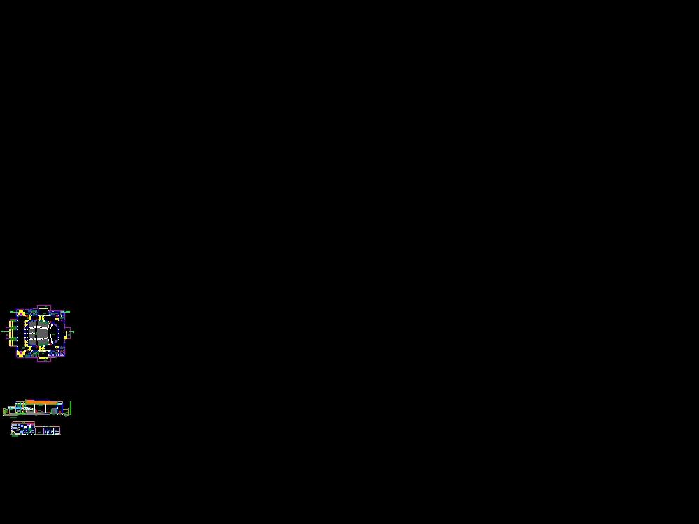 Auditorium for 750 persons