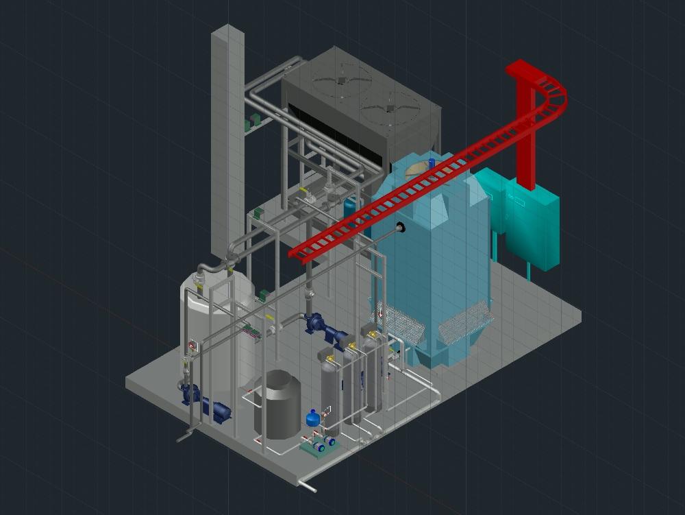 Recirculación de agua helada para producto alimenticio