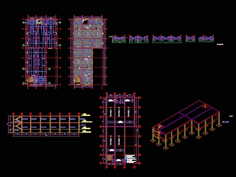 Design plan lightened and solid slab