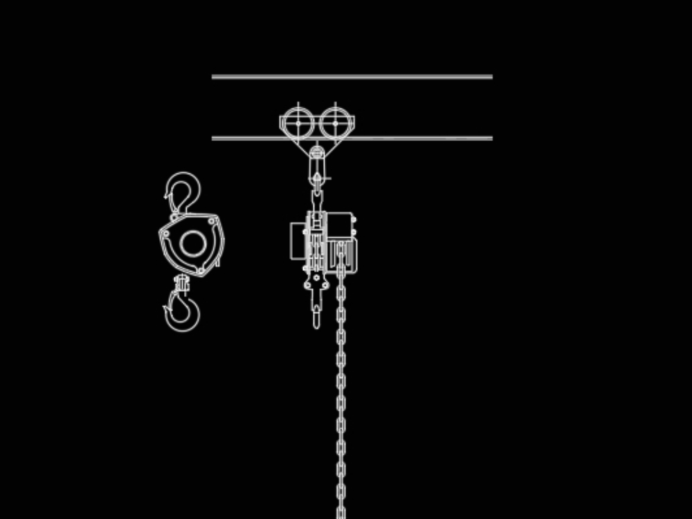 Forklift chains