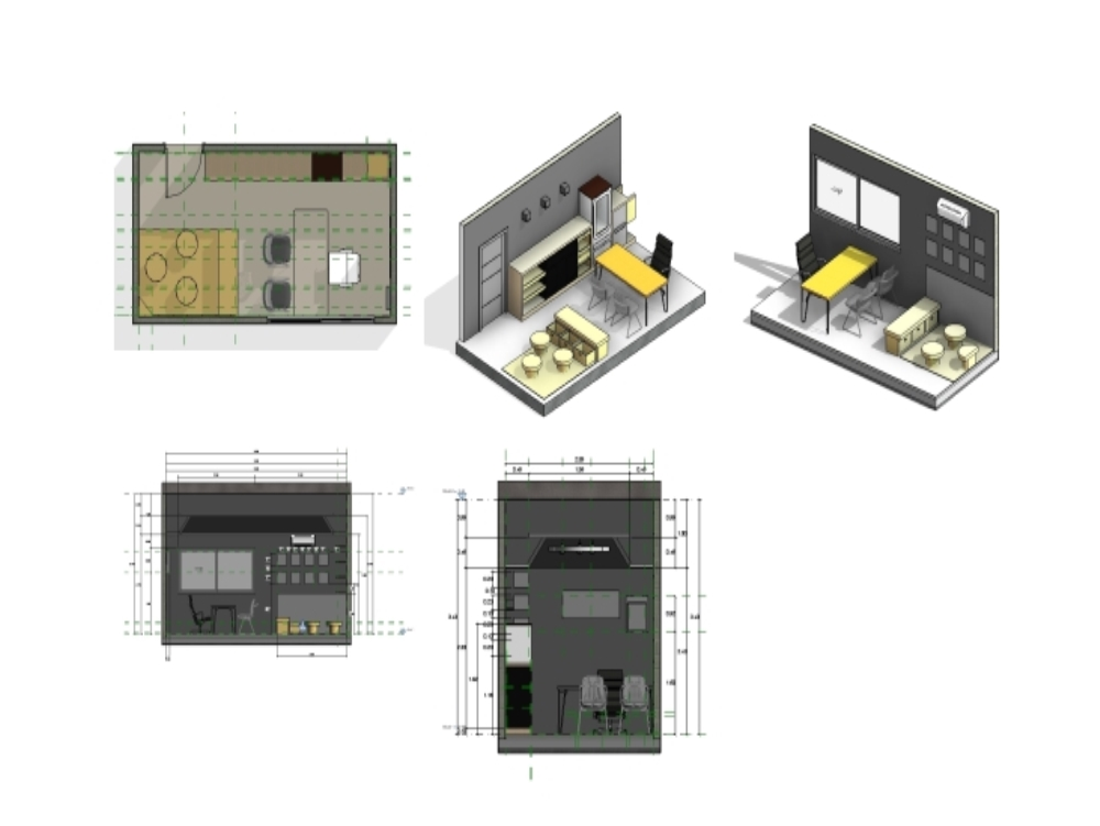 Revit children's clinic model