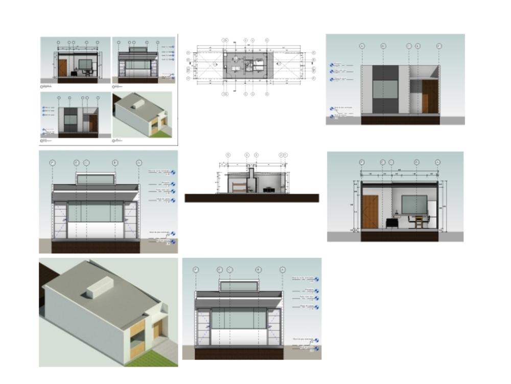 Revit single-family housing module