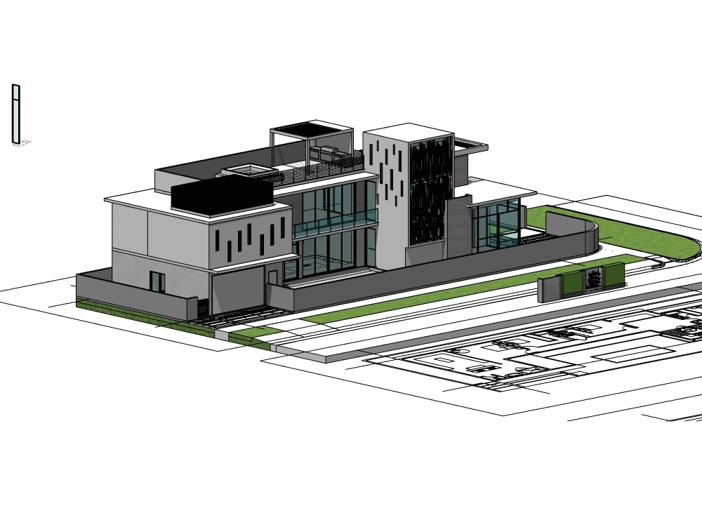 Diseño arquitectonico de casa elan 2015