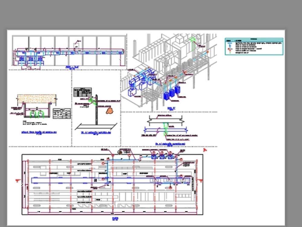 Electrical design for air conditioning of the ccm through ducts