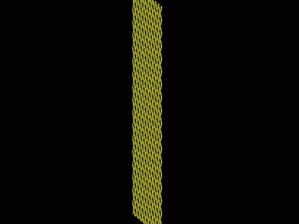 Diamond-shaped die-cut sheet