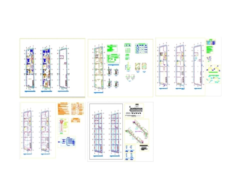 Second Floor Single Family Home Plan
