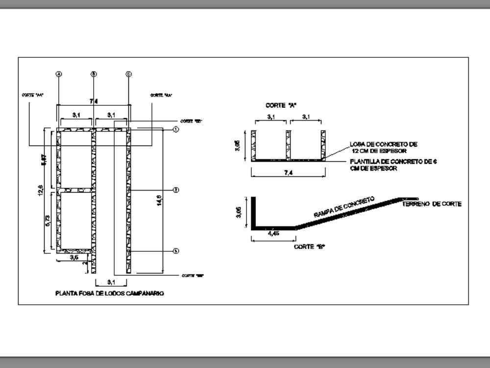 Sludge pit for asphalt plant