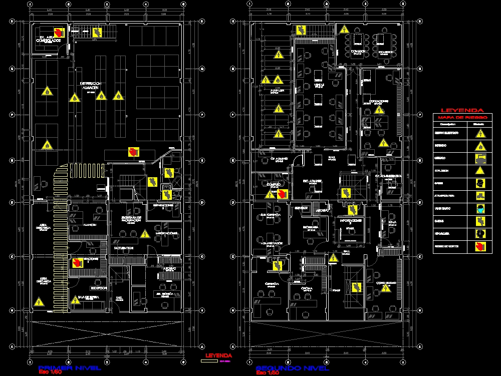 Risk map-occupational health and safety plan