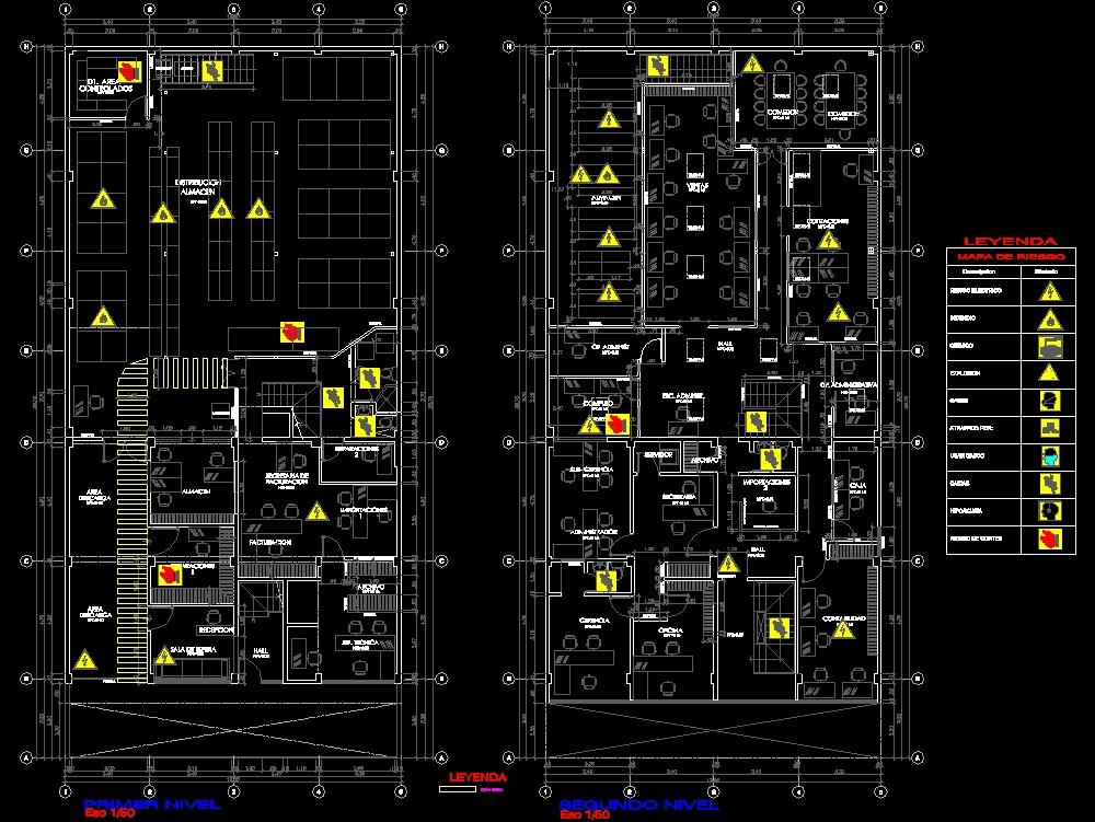 Mapa de riesgo-plan de seguridad y salud en el trabajo
