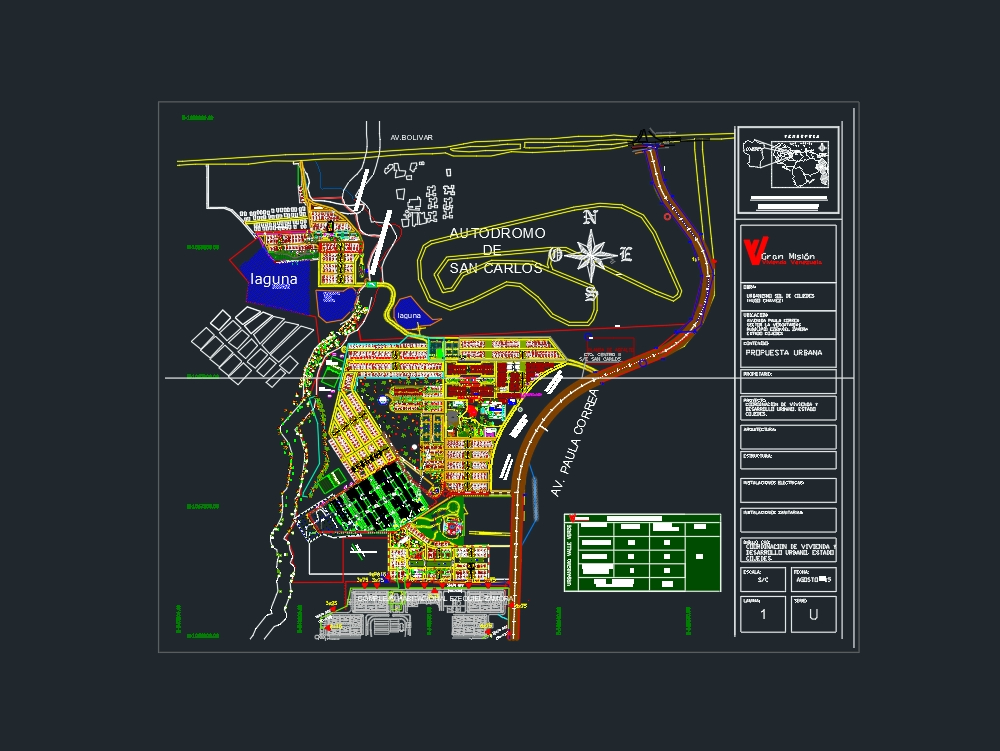Urban planning of housing coordination