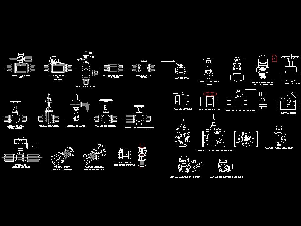 Valve blocks and pvc fittings