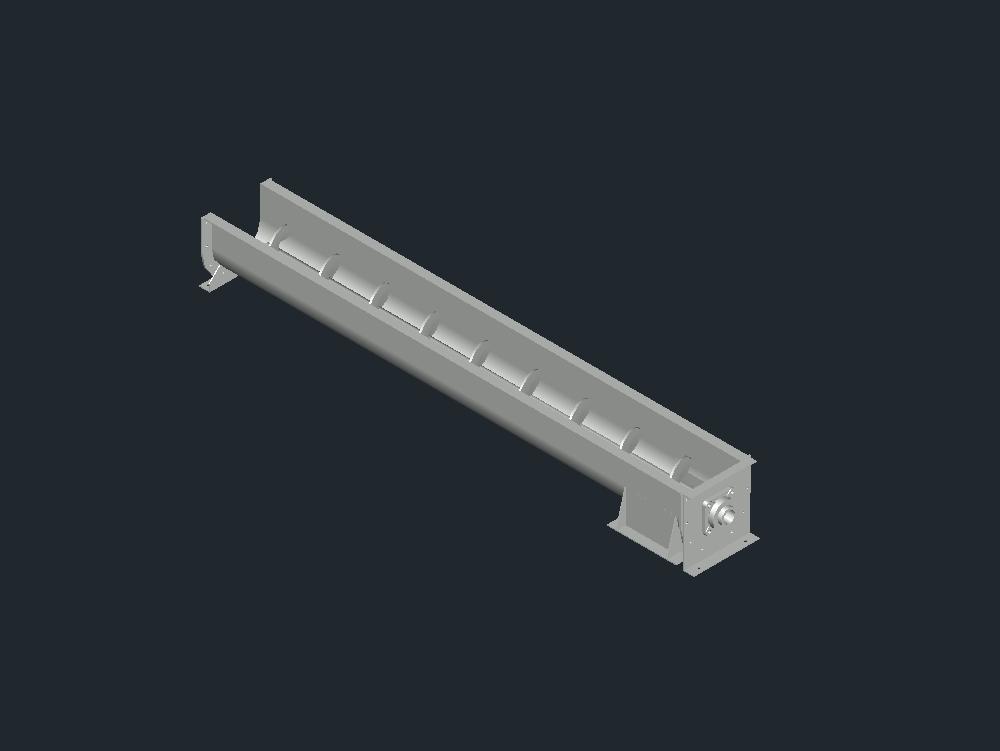 Bulk Materials Helical Conveyor