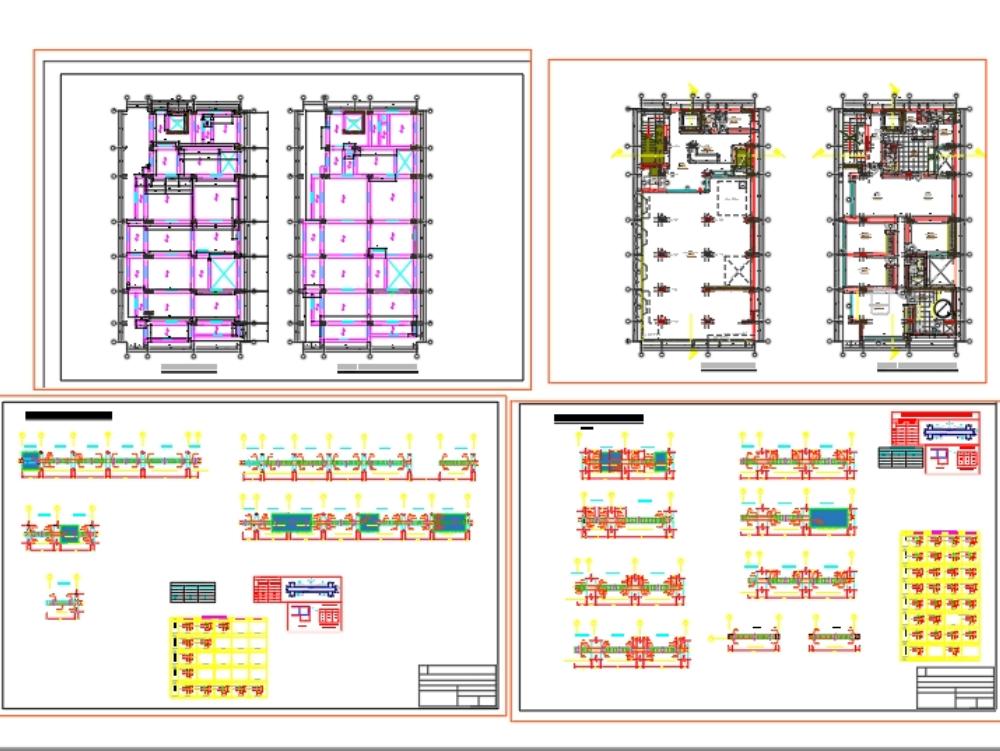 Proyecto multifamiliar de ocho pisos