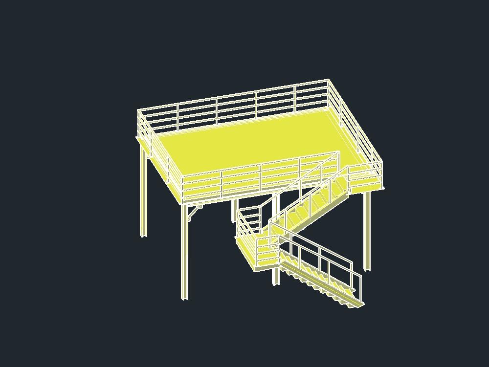 Beam-based mezzanine and laminate floor