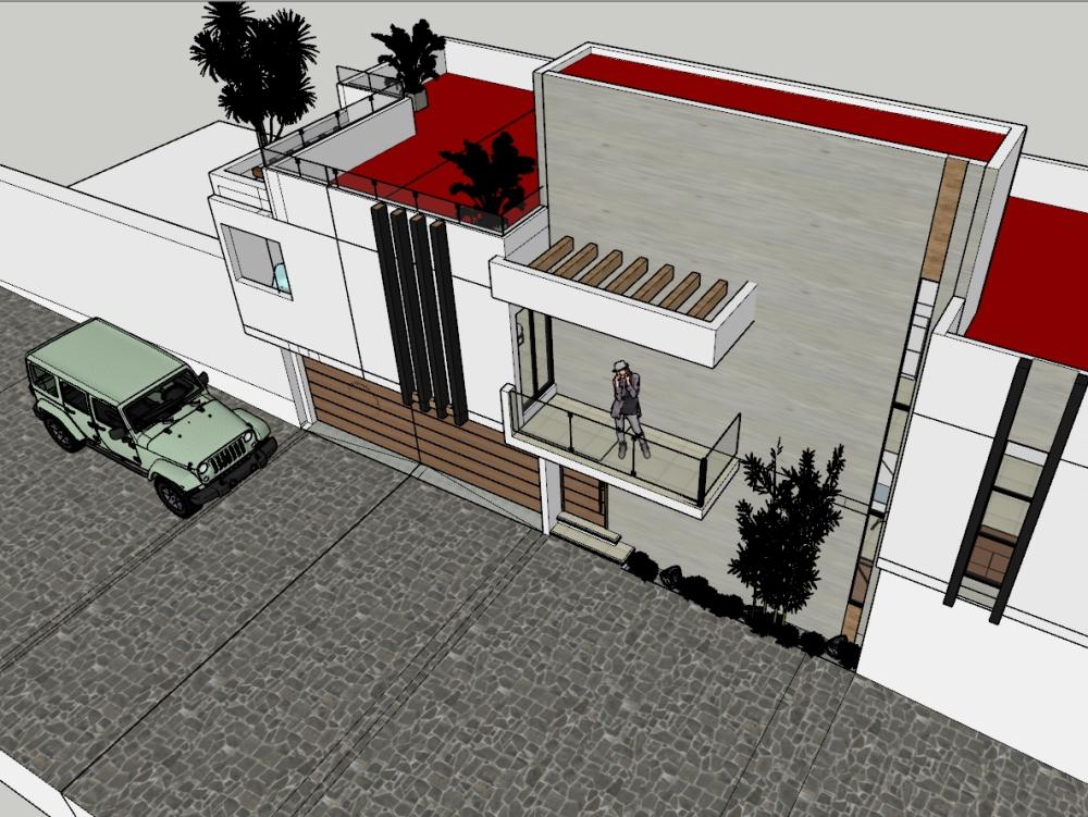 Castillotla preliminary draft of house room