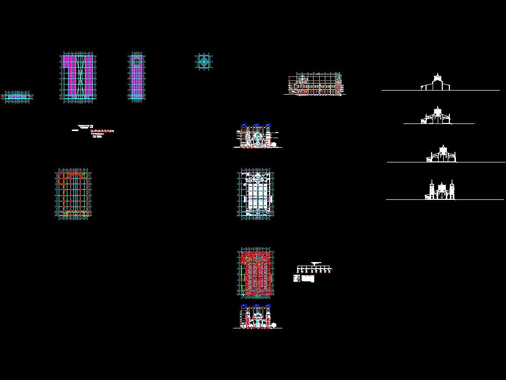 Proyecto para la construcción de una iglesia