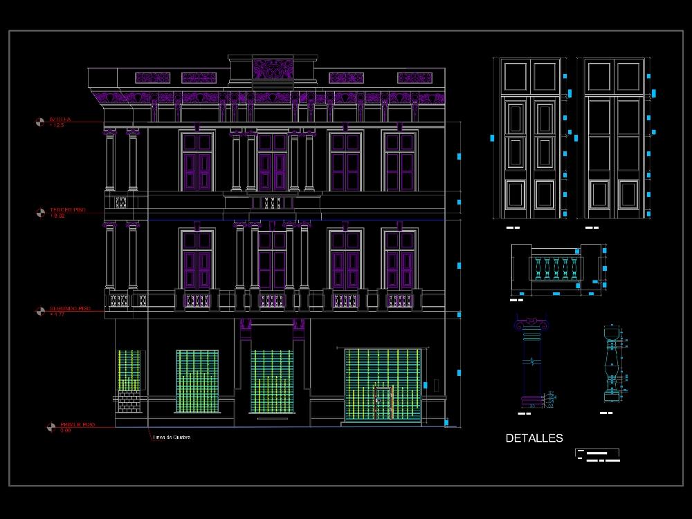Republican architecture plans
